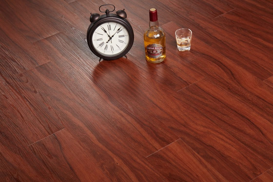 Loose Lay PVC Vinyl Plank Flooring UV Coating For Surface Protection