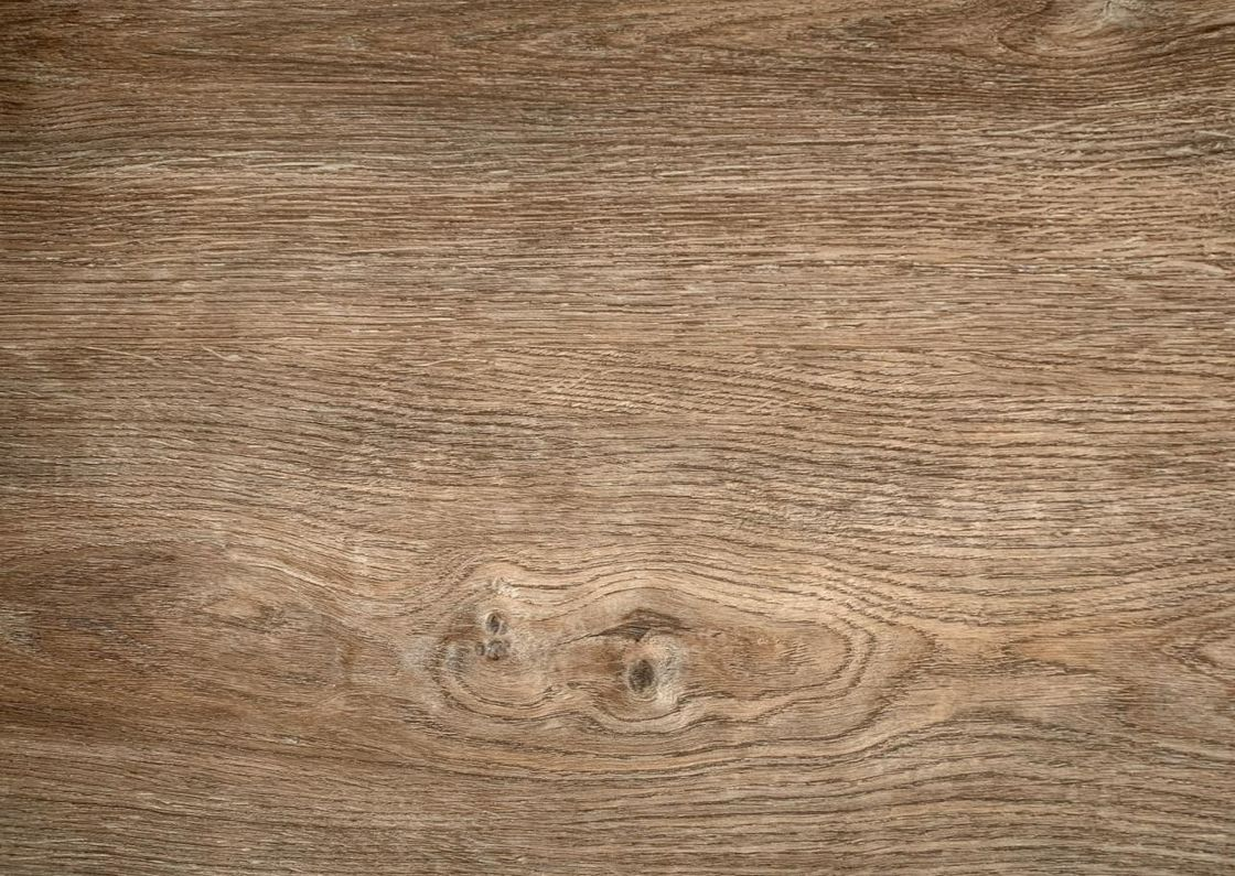 Oak Wood Color PVC Decorative Film , Wood Grain Vinyl Film Moisture Proof