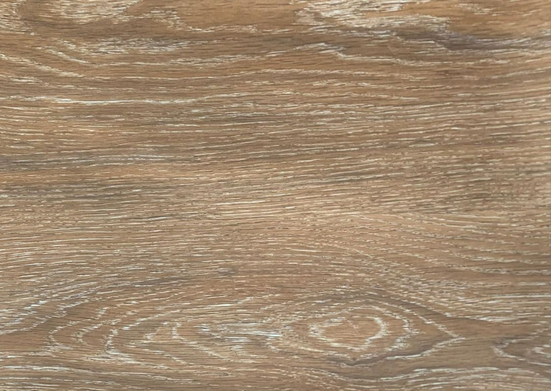 Wood texture decorative film applicated in vinyl plank floor as printed layer