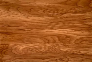 China Dark Wood Design Decorative Floor PVC Film Roll Of Polyvinyl Chloride factory