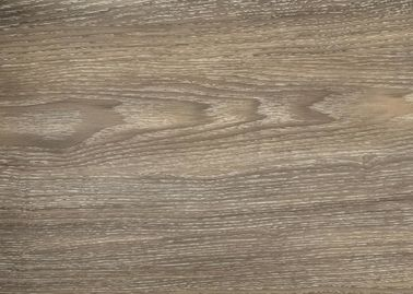 China Solid Color Wood Grain PVC Film , No Color Fading Smooth Surface PVC Wood Film factory