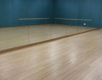 Dancing rom floor wood look easy installation , cost effective dry back loose lay PVC vinyl plank flooring