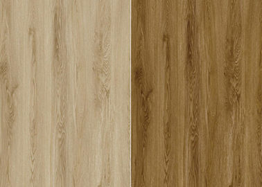 7.25'' X 48'' Size Spc Rigid Core Vinyl Flooring 4.0mm - 5.0mm Thickness Wood Grain Surface Texture