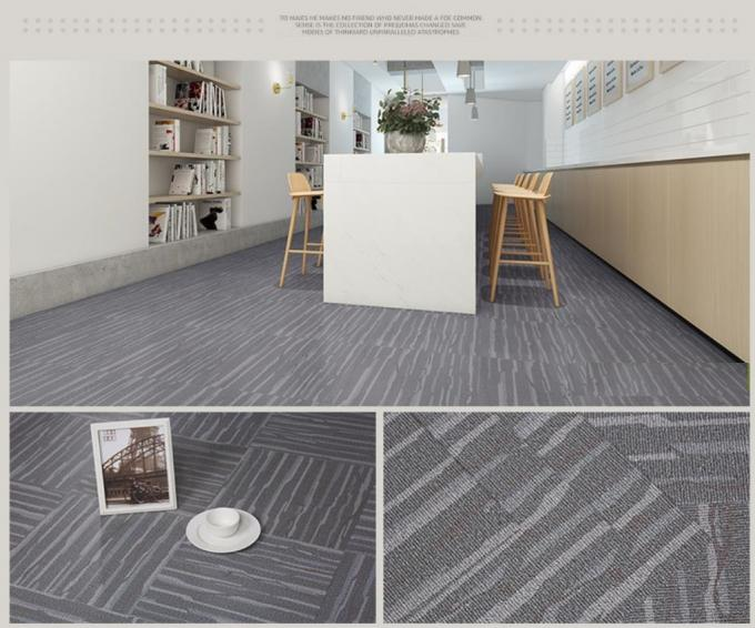 Easy Installation PVC Carpet effect Flooring UV Resistant With Slip Resistance